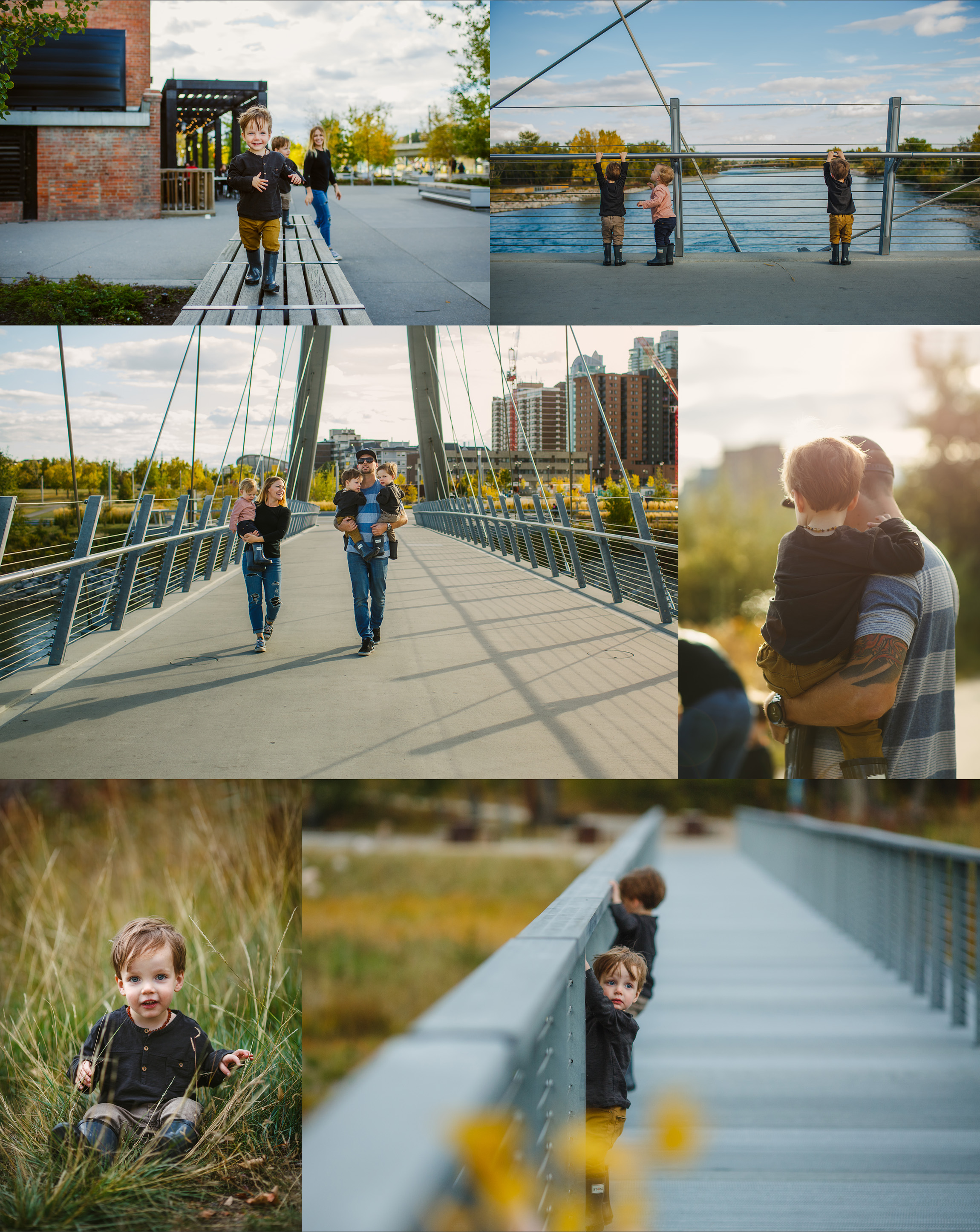 Triplet session by Calgary photographer Kelly MacDonald